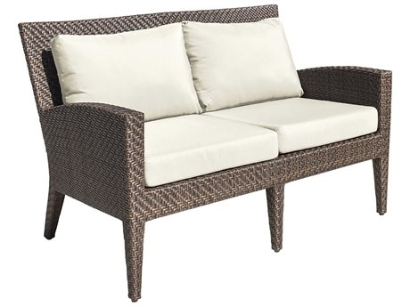 Panama Jack Oasis Wicker Cushion Loveseat