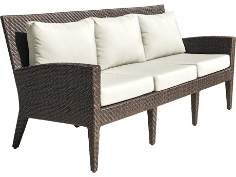 Panama Jack Oasis Wicker Cushion Sofa