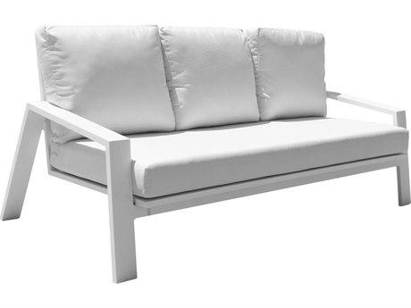 Panama Jack Mykonos Aluminum Cushion Sofa