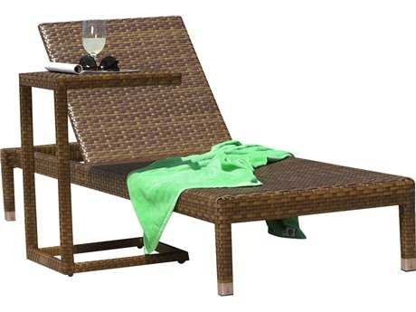 Panama Jack St. Barth's Wicker Two Piece Chaise Lounge Set