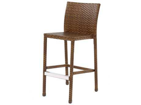 Panama Jack St. Barth's Wicker Stationary Barstool