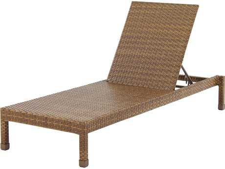 Panama Jack St. Barth's Wicker Stackable Chaise Lounge PatioLiving