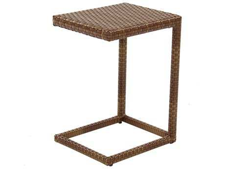 Panama Jack St. Barth's Wicker 18 x 15 Rectangular End Table