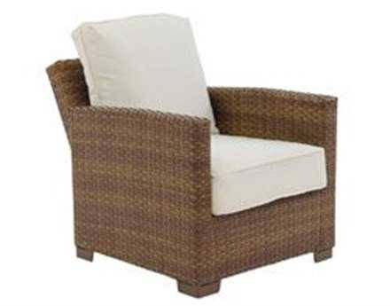 Panama Jack St. Barth's Wicker Recliner Lounge Chair
