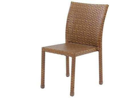 Panama Jack St. Barth's Wicker Stackable Dining Side Chair