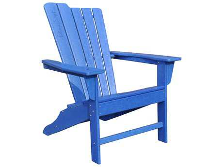 Panama Jack Adirondack Resin Blue Adirondack Resin Chair