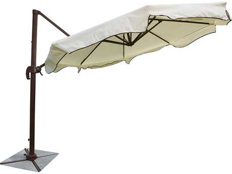 Panama Jack Island Breeze Aluminum 10 Foot Octagon Cantilever Umbrella
