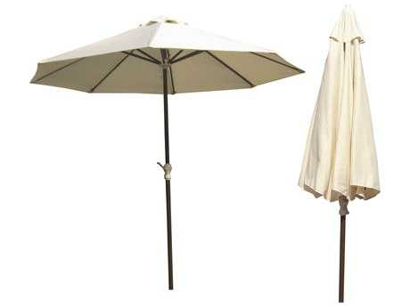 Panama Jack Island Breeze Aluminum 9 Foot Octagon Market Umbrella