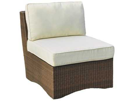 Panama Jack Key Biscayne Wicker Armless Chair