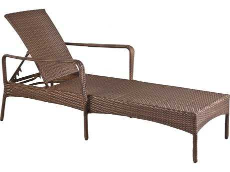 Panama Jack Key Biscayne Wicker Chaise Lounge