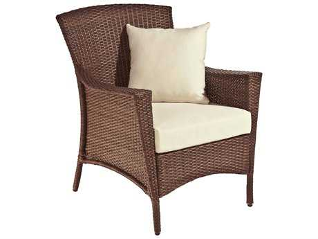 Panama Jack Key Biscayne Wicker Lounge Chair