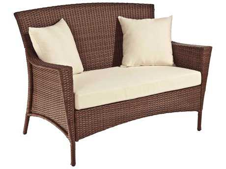 Panama Jack Key Biscayne Wicker Loveseat