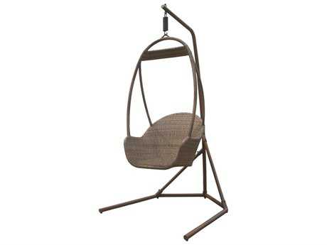 Panama Jack Island Cove Wicker Hanging Chair