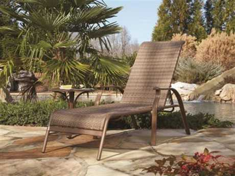 Panama Jack Island Cove Wicker Two Piece Chaise Lounge set
