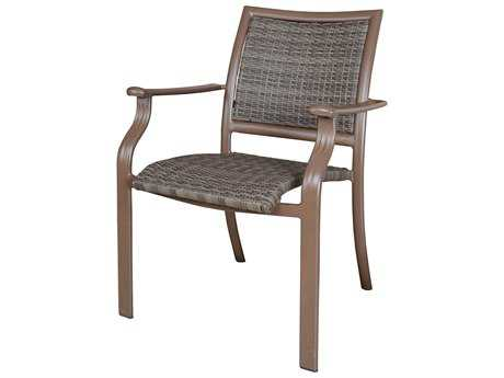 Panama Jack Island Cove Woven Stackable Armchair