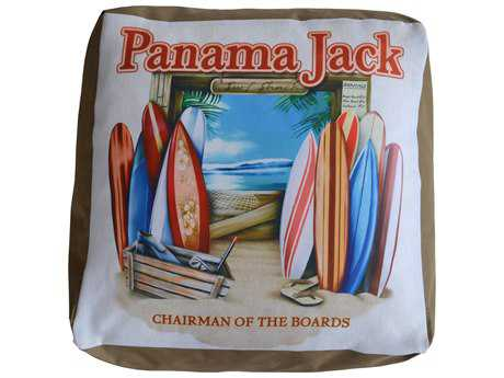 Panama Jack Pouf Chairman of The Boards Ottoman