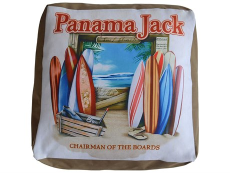 Panama Jack Pouf Chairman of The Boards Ottoman PatioLiving