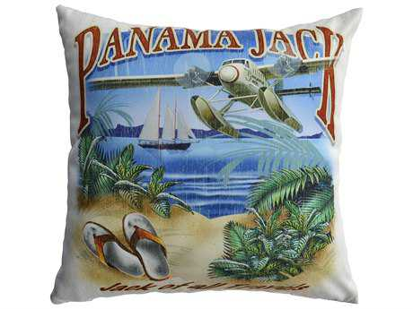 Panama Jack of all Travels Two Piece Throw Pillow Set