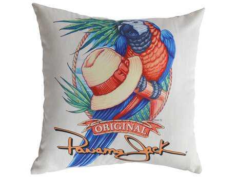Panama Jack Panama Parrot Two Piece Throw Pillow Set