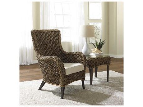 Panama Jack Sunroom Sanibel Wicker Cushion Lounge Set