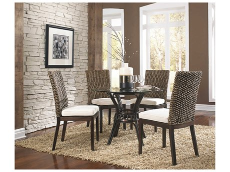 Panama Jack Sunroom Sanibel Wicker Dining Set