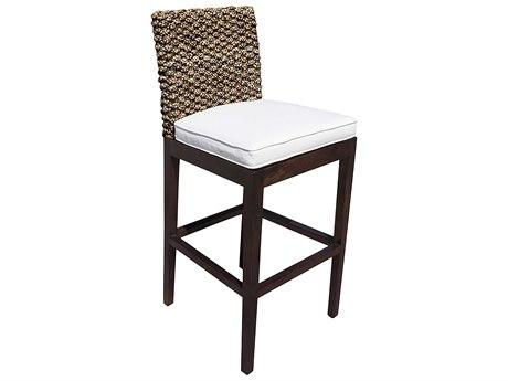 Panama Jack Sunroom Sanibel Wicker Cushion Barstool