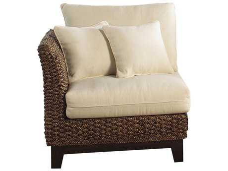 Panama Jack Sanibel Wicker Corner Chair