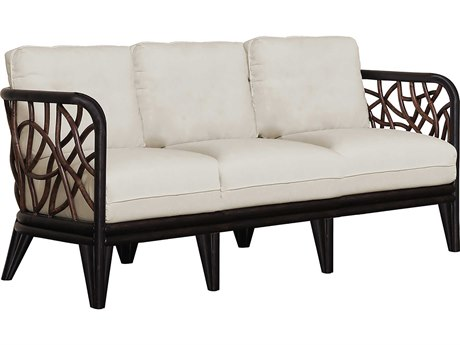 Panama Jack Sunroom Trinidad Wicker Cushion Sofa