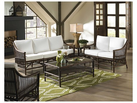 Panama Jack Sunroom Bora Wicker Cushion Lounge Set