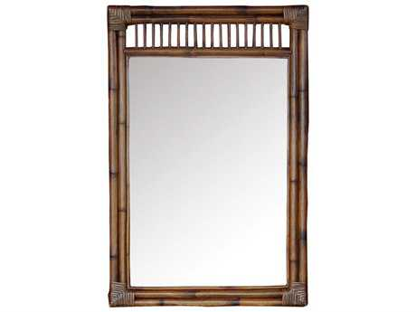 Panama Jack Bora Bora Wicker Antique Mirror