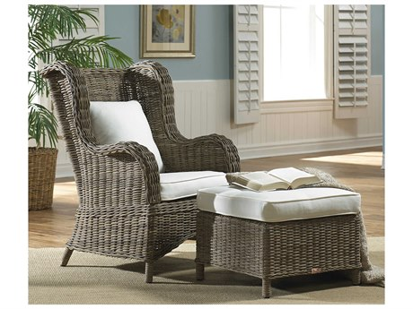 Panama Jack Sunroom Exuma Wicker Cushion Lounge Set