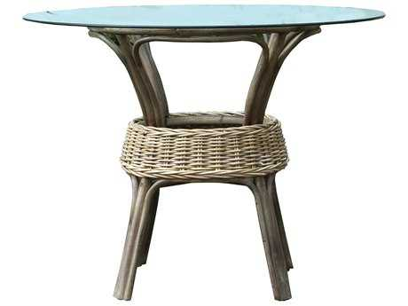 Panama Jack Exuma 48 Round Wicker Dining Table