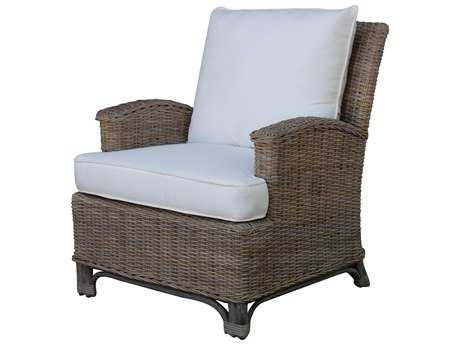 Panama Jack Exuma Wicker Lounge Chair PJPJS3001KBULC