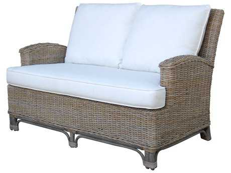 Panama Jack Exuma Wicker Loveseat