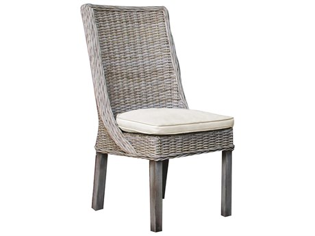 Panama Jack Exuma Wicker Dining Side Chair