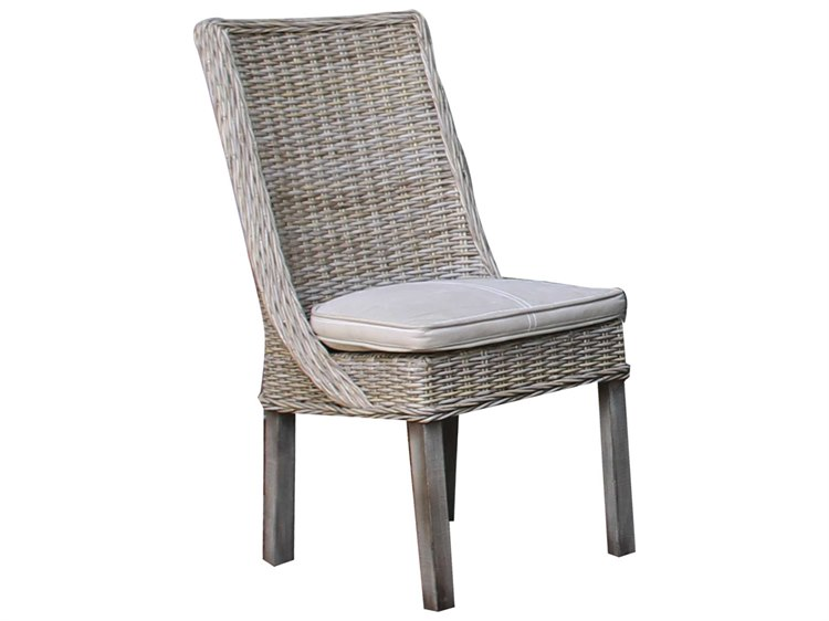 Panama Jack Exuma Wicker Dining Side Chair