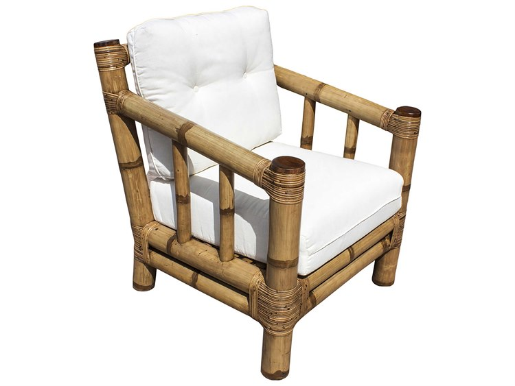 Panama Jack Sunroom Kauai Wicker Cushion Lounge Chair