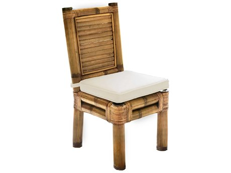 Panama Jack Sunroom Kauai Wicker Cushion Dining Chair