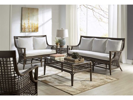 Panama Jack Sunroom Millbrook Wicker Cushion Lounge Set