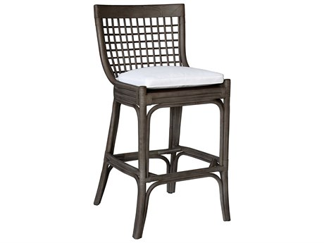 Panama Jack Sunroom Millbrook Wicker Cushion Bar Stool