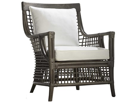 Panama Jack Sunroom Millbrook Wicker Cushion Lounge Chair
