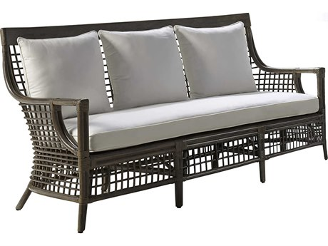 Panama Jack Sunroom Millbrook Wicker Cushion Sofa
