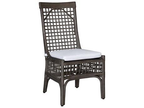 Panama Jack Sunroom Millbrook Wicker Cushion Dining Chair