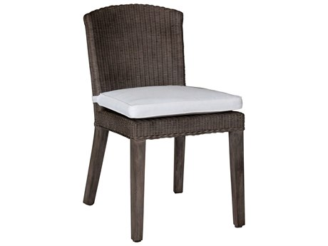 Panama Jack Sunroom Playa Largo Wicker Cushion Dining Chair