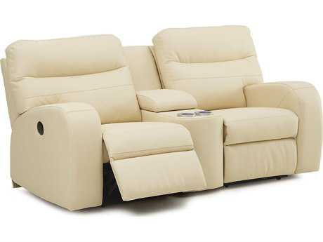 Palliser Glenlawn Console Recliner Loveseat with Cupholder