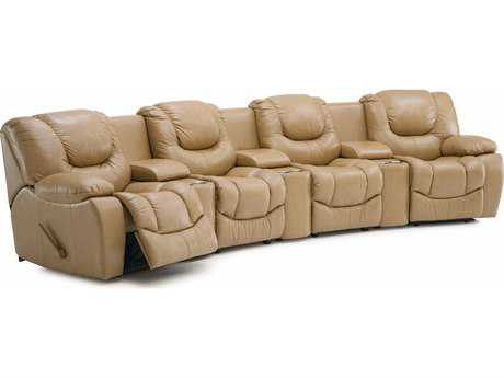Palliser Santino Powered Motion Home Theater Sectional Sofa