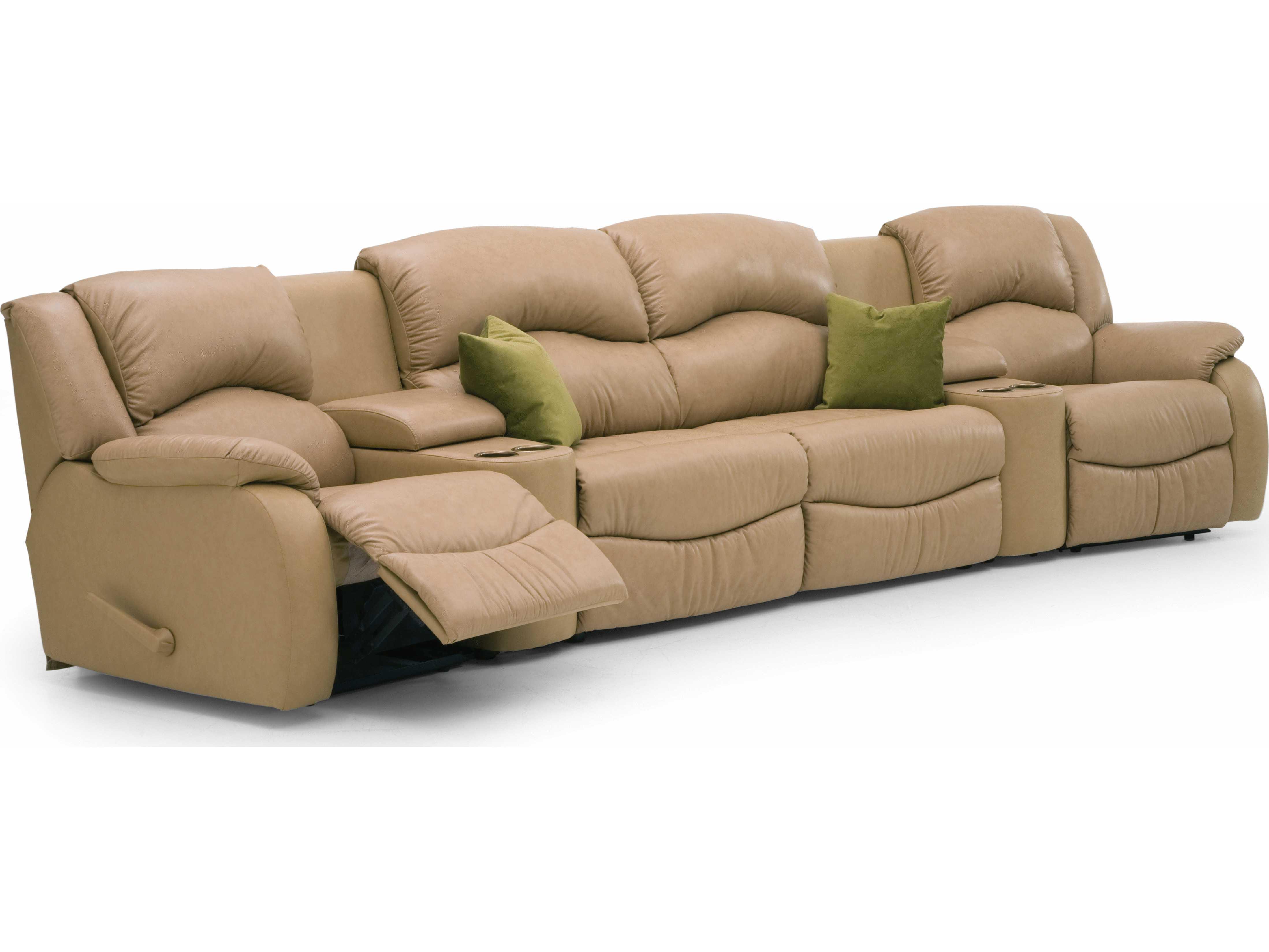 Palliser Dane Motion Sectional With Sofa Bed Sofa