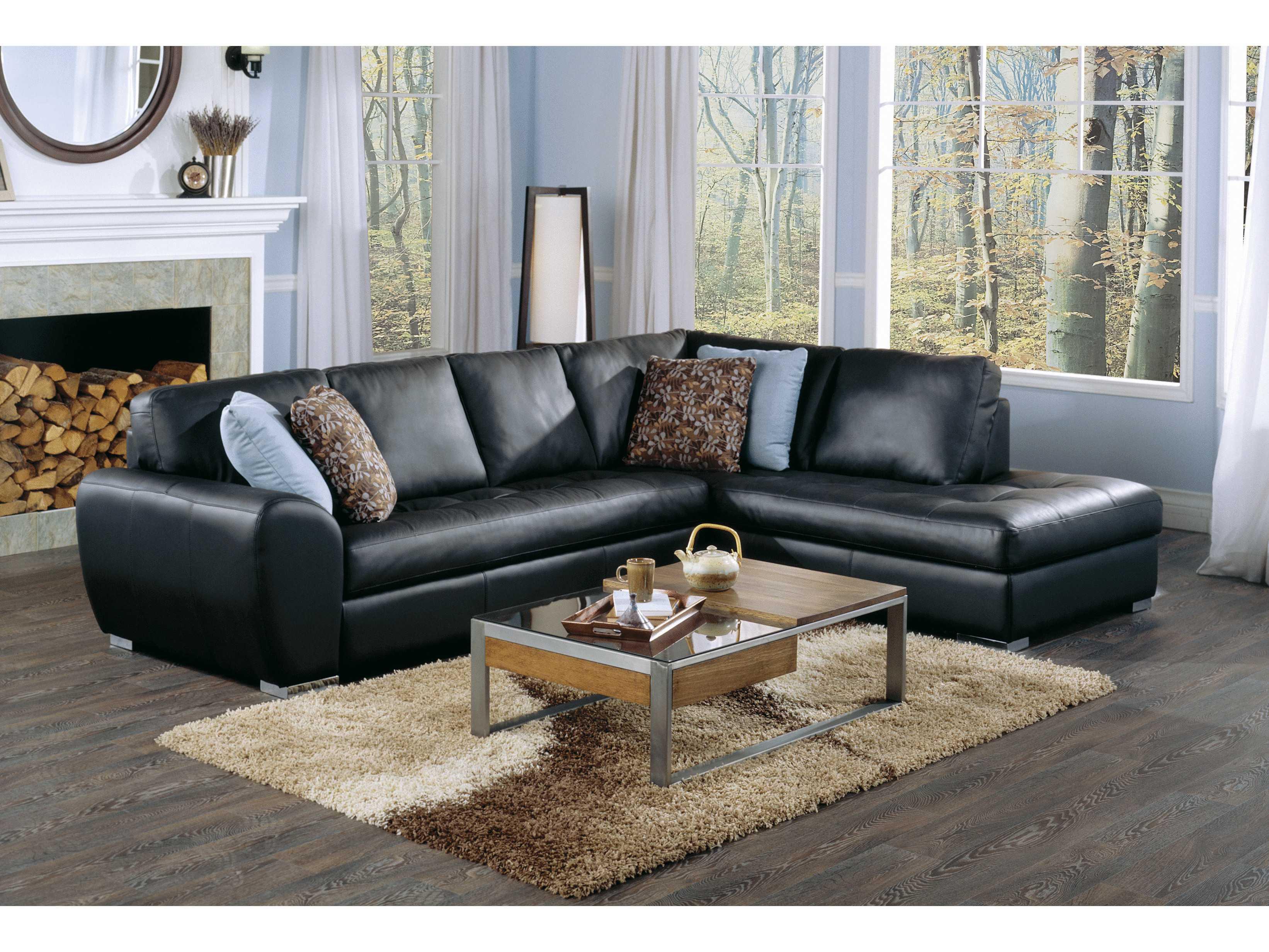 Palliser kelowna sectional sofa pl sc
