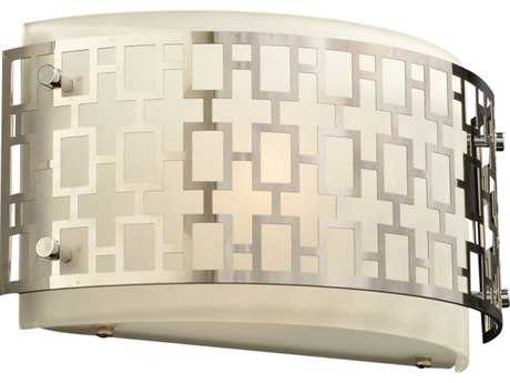 PLC Lighting Ethen Polished Chrome Fluorescent-Quad18 Vanity Light