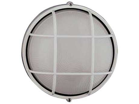 PLC Lighting Marine White Incandescent Outdoor Wall Light (Sold in 4)